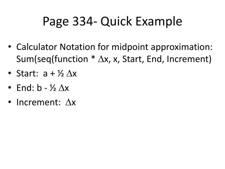 Page 334- Quick Example