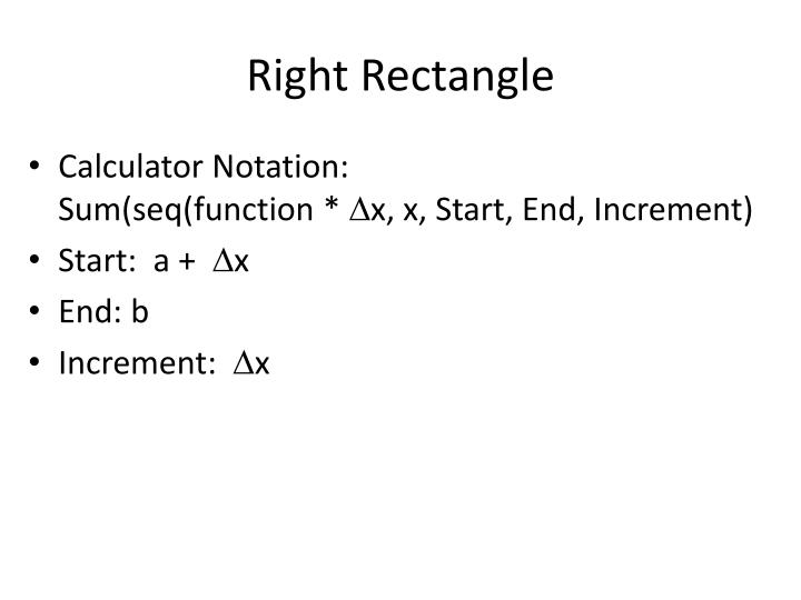 Right Rectangle