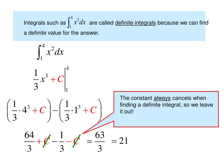 Integrals such as               are called