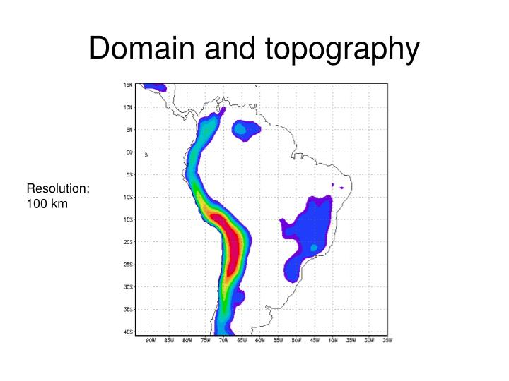 Domain and topography