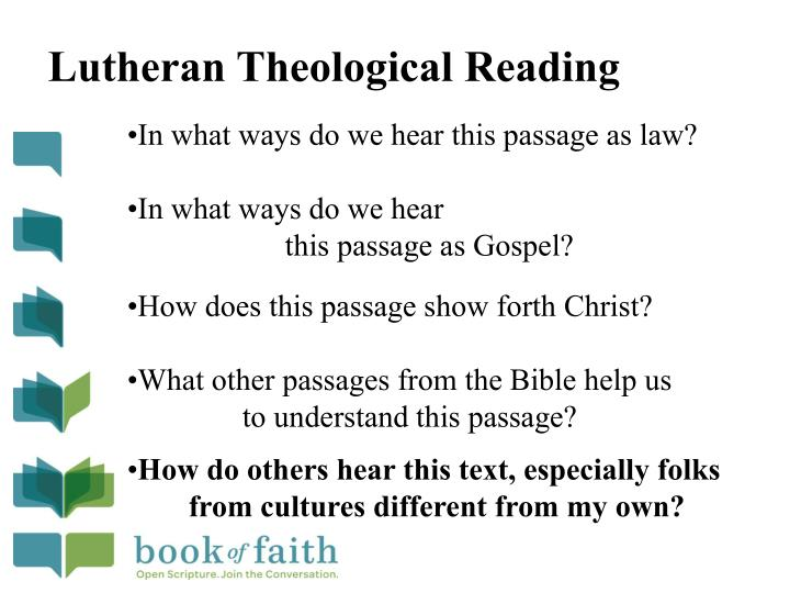 Lutheran Theological Reading