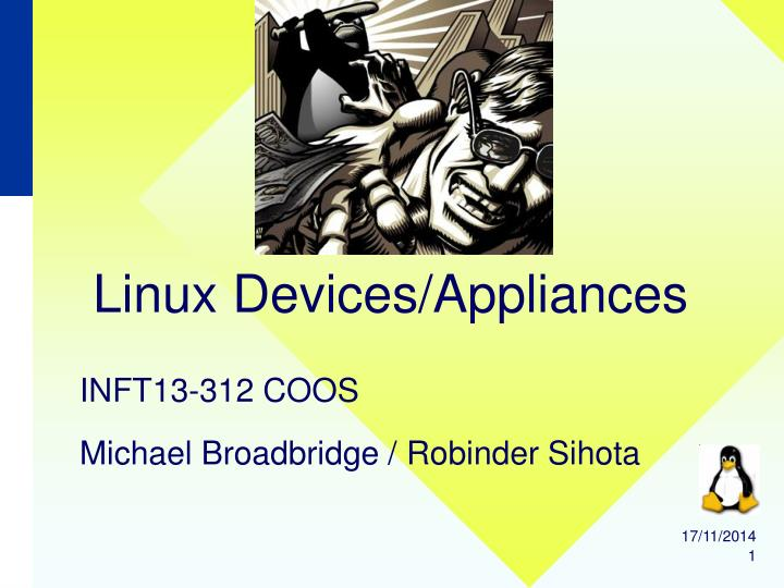 linux devices appliances