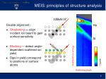 meis principles of structure analysis