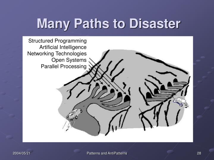Many Paths to Disaster