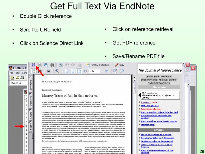 Get Full Text Via EndNote