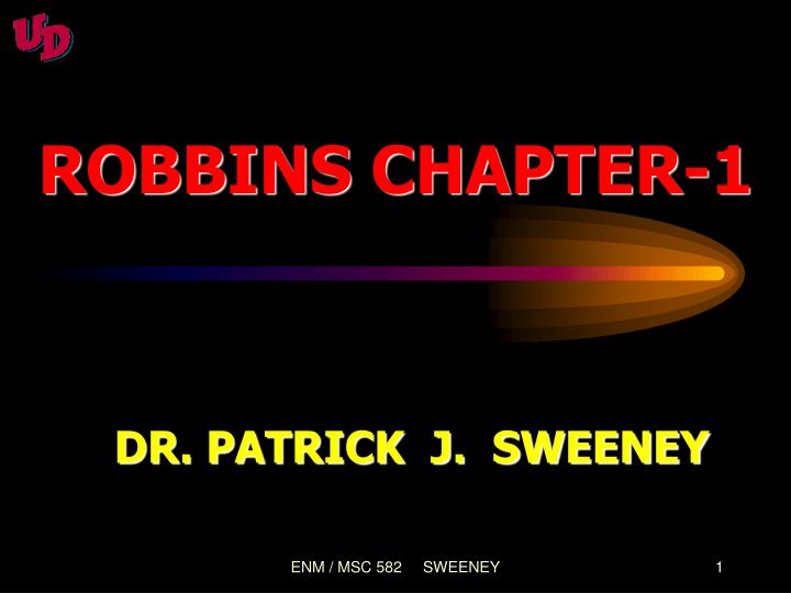 Robbins chapter 1