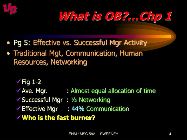 What is OB?…Chp 1