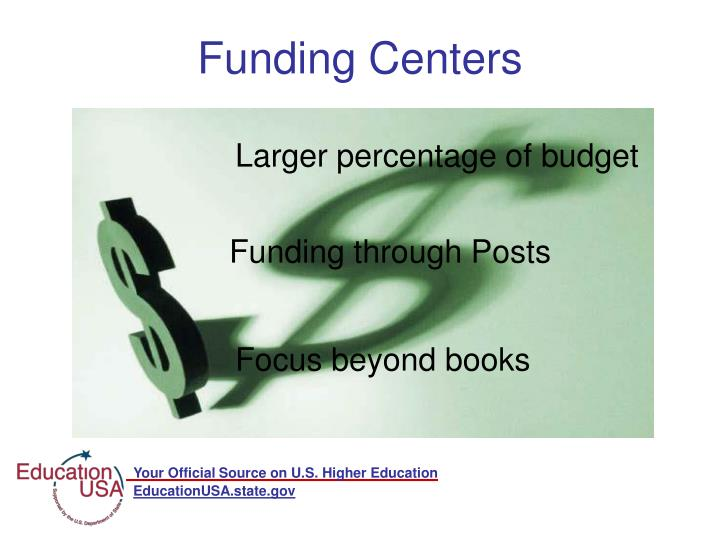 Funding Centers