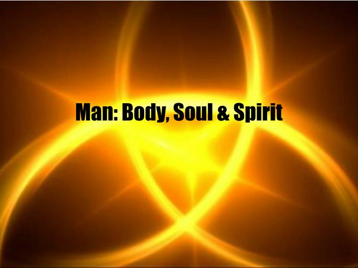 Man body soul spirit