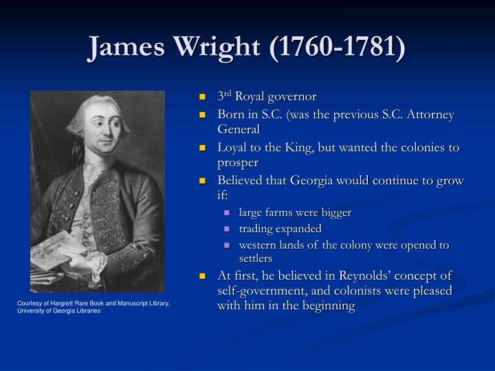 James Wright (1760-1781)