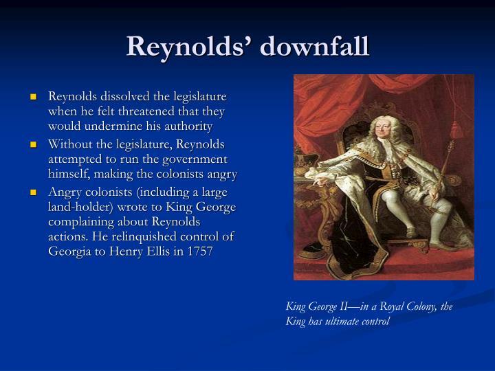 Reynolds' downfall