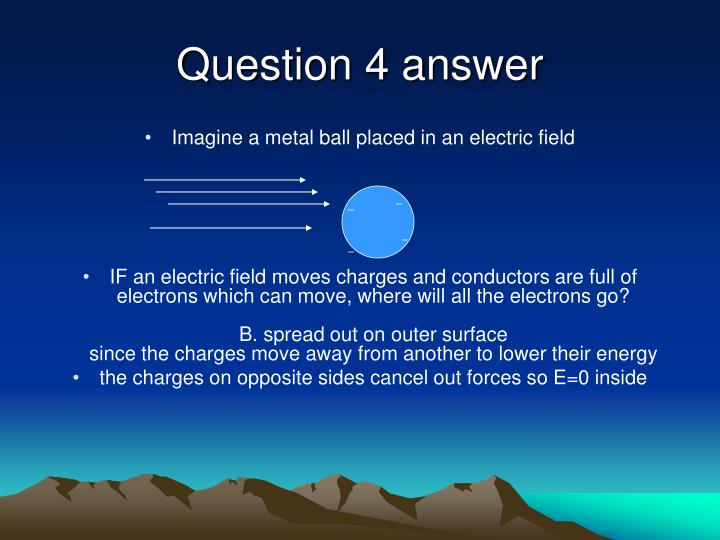Question 4 answer