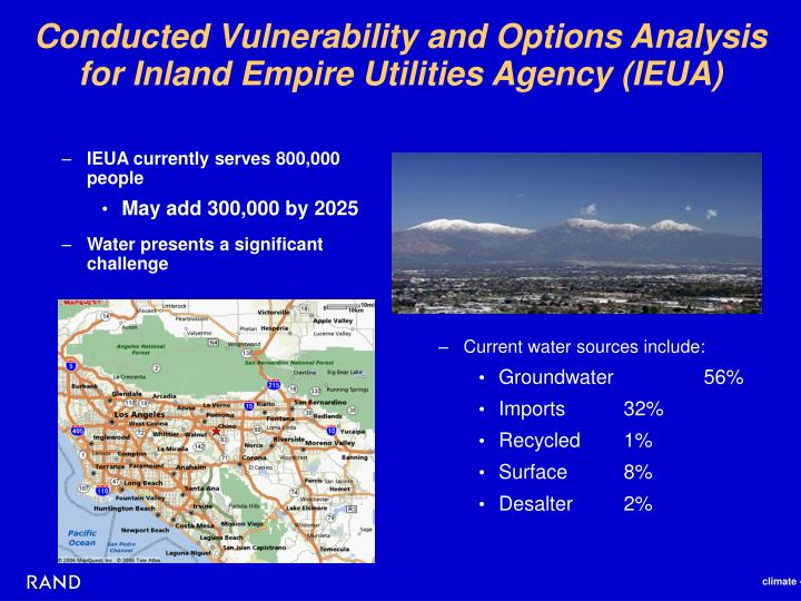 Conducted Vulnerability and Options Analysis
