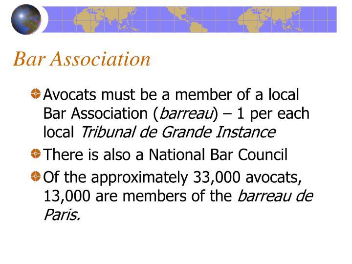 Bar Association