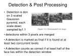 detection post processing