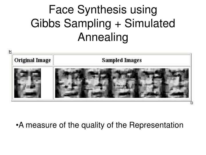 Face Synthesis using