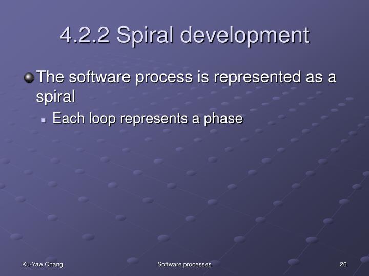 4.2.2 Spiral development