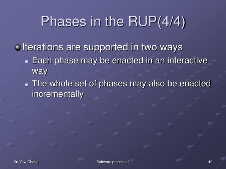 Phases in the RUP(4/4)