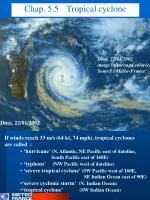 chap 5 5 tropical cyclone