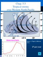 chap 5 5 tropical storms over western north pacific