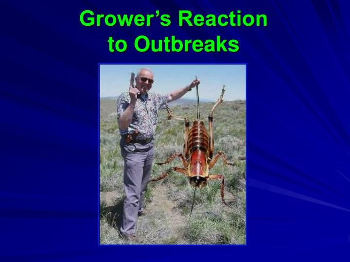 Grower's Reaction to Outbreaks