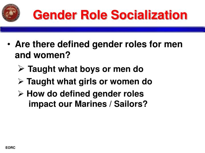 process of gender and sex role socialization in Chichester