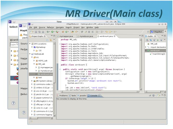 MR Driver(Main class)