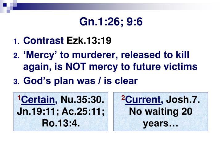 Gn.1:26; 9:6