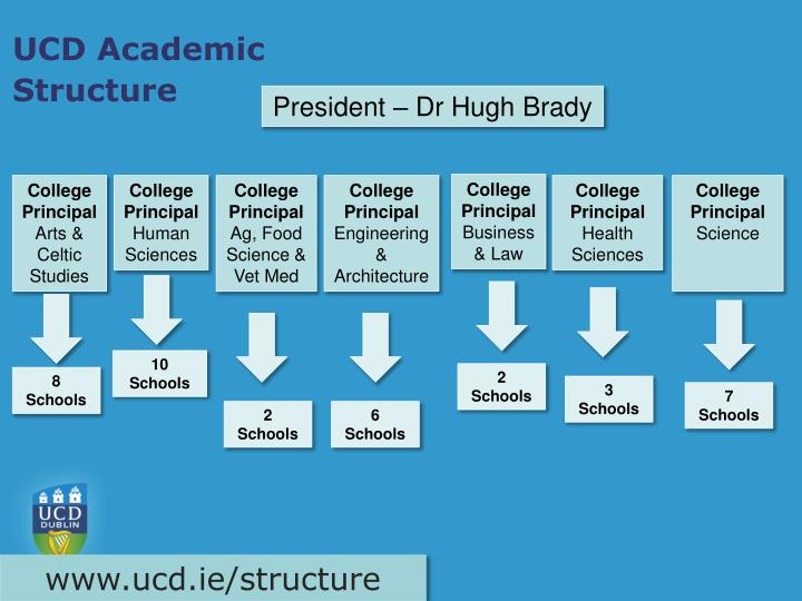 Ucd academic structure