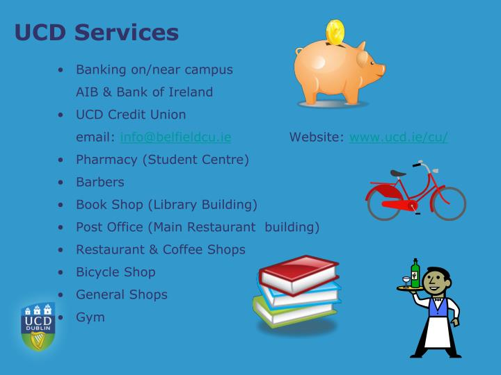 UCD Services