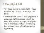 2 timothy 4 7 8