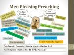 men pleasing preaching