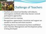 challenge of teachers1