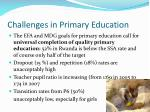 challenges in primary education