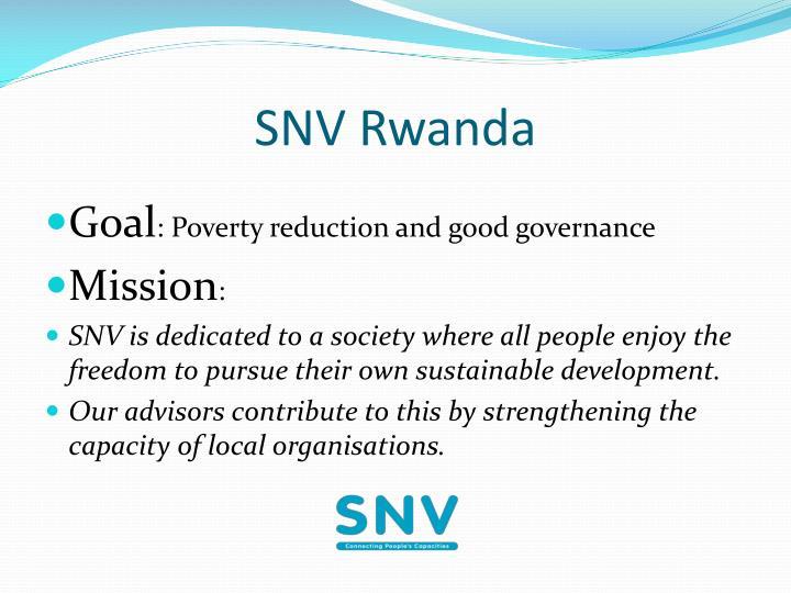 SNV Rwanda