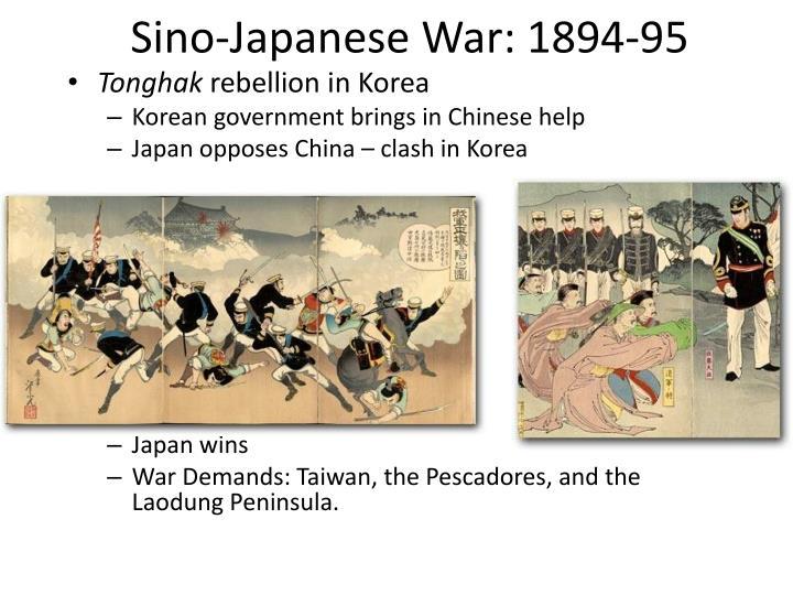 Sino-Japanese War: 1894-95