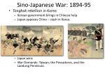 sino japanese war 1894 95