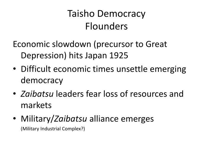 Taisho Democracy