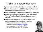 taisho democracy flounders1