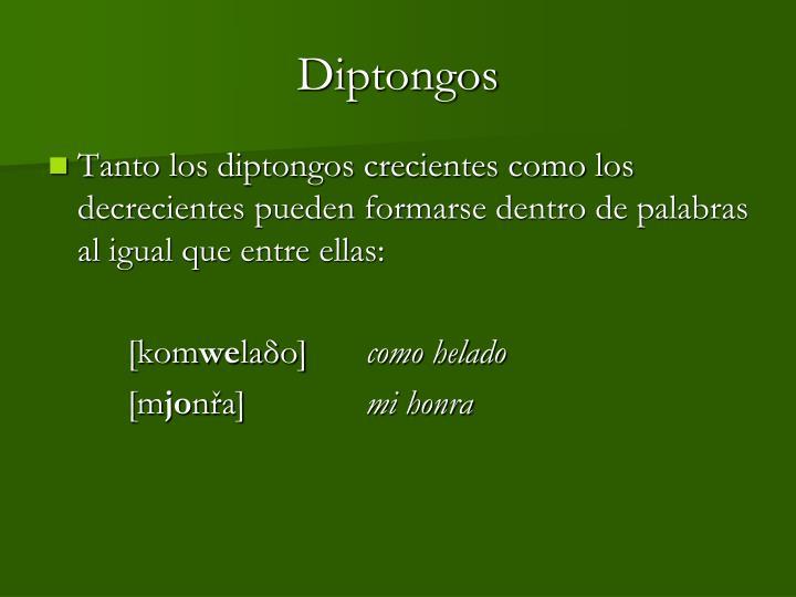 Diptongos