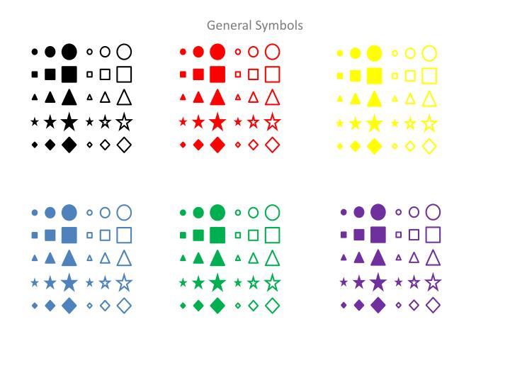 General Symbols