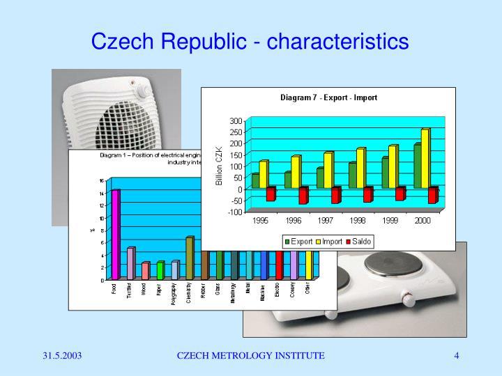 Czech Republic - characteristics