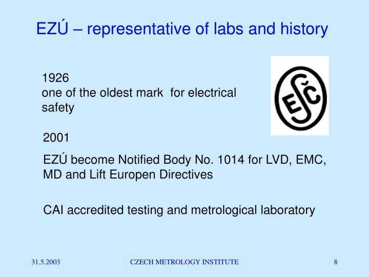 EZÚ – representative of labs and history