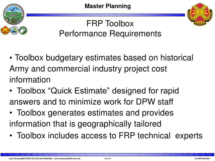 FRP Toolbox