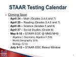 staar testing calendar1