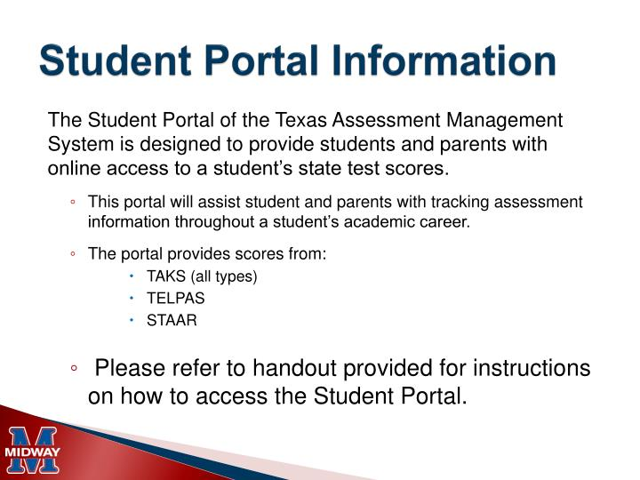 Student Portal Information