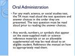 oral administration2