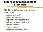 emergency management elements3