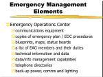 emergency management elements4
