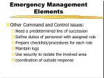 emergency management elements6